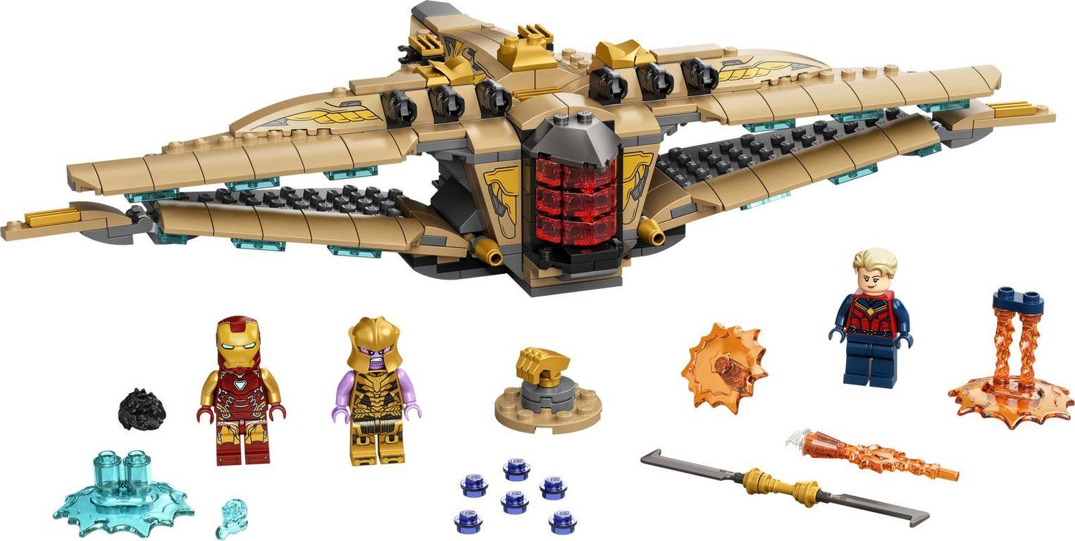 LEGO® Marvel Sanctuary II: Endgame Battle components