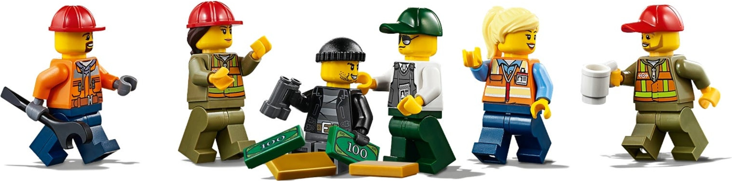 LEGO® City Cargo Train minifigures