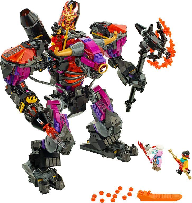 LEGO® Monkie Kid Demon Bull King components