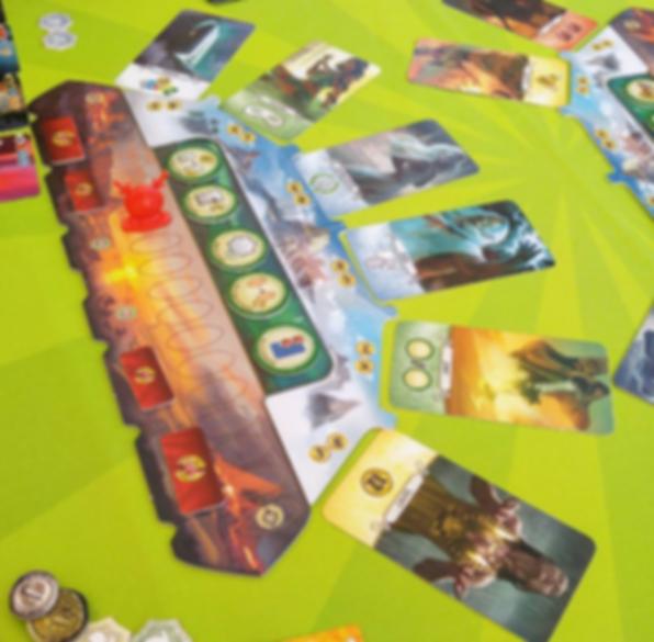 7 Wonders Duel: Pantheon gameplay