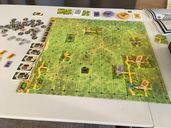 Saboteur: The Lost Mines components