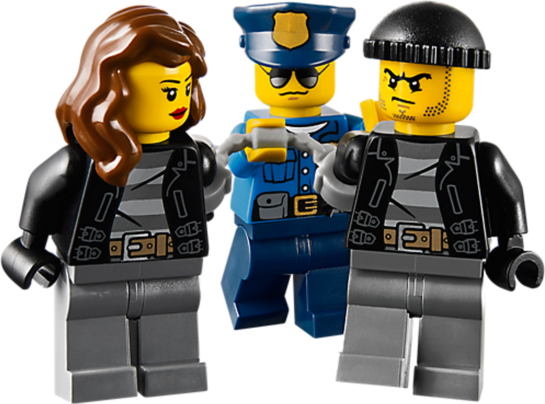 High Speed Police Chase minifigures
