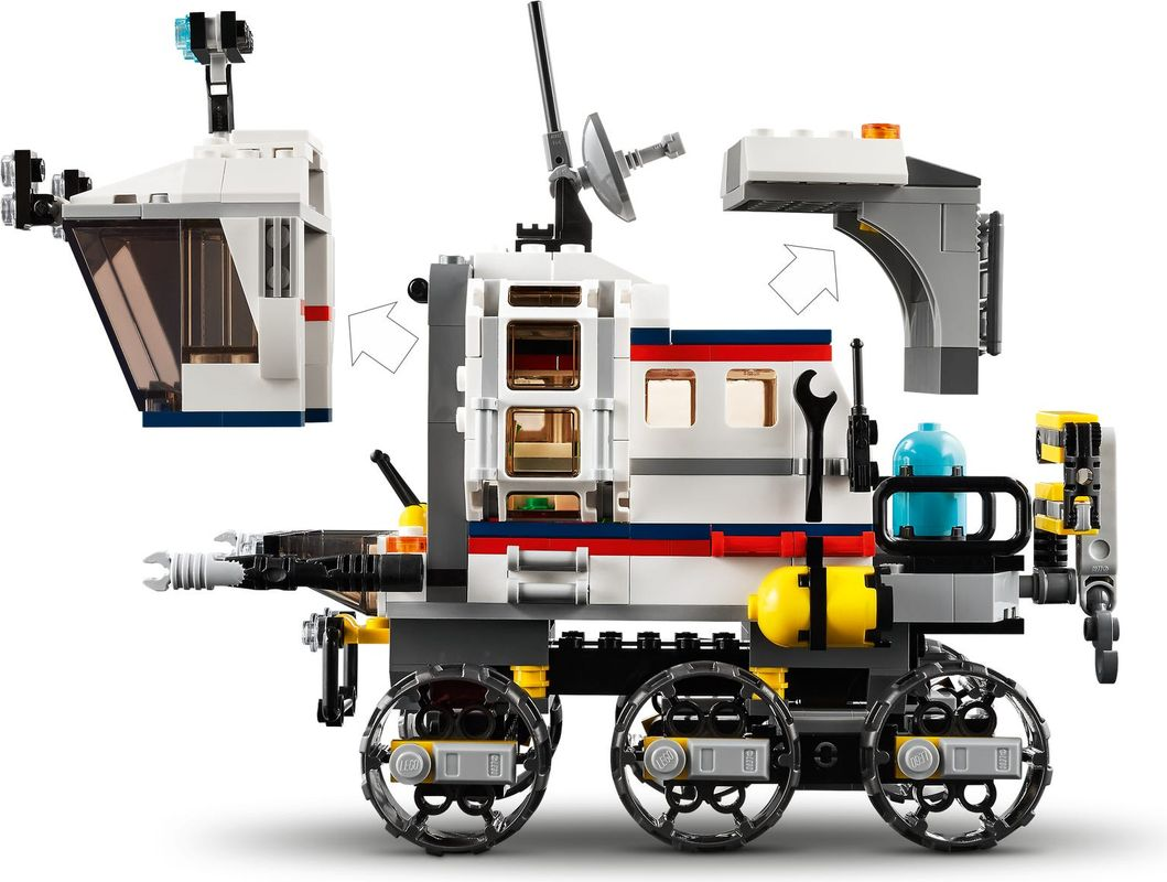 Space Rover Explorer components