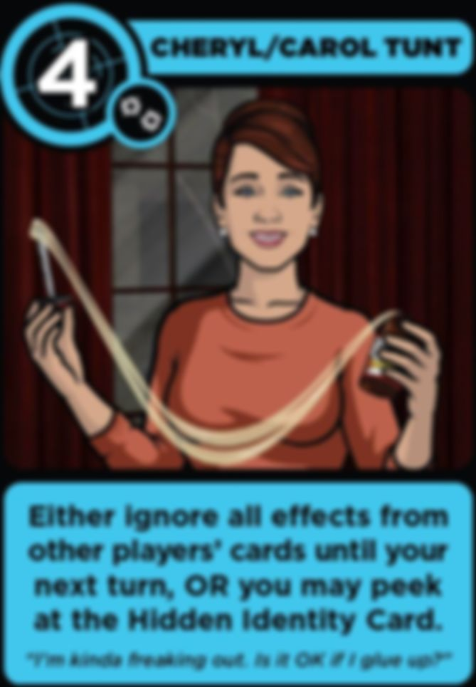 Archer: Once You Go Blackmail... cards