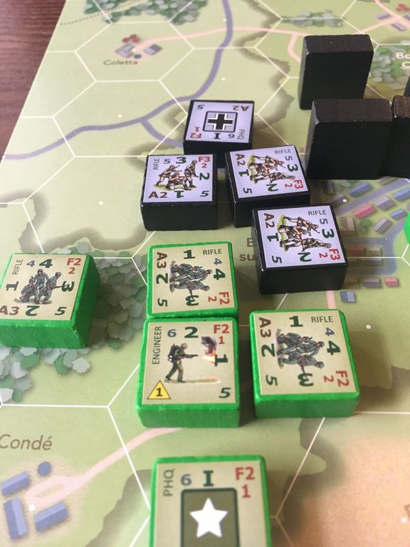 Combat Infantry components