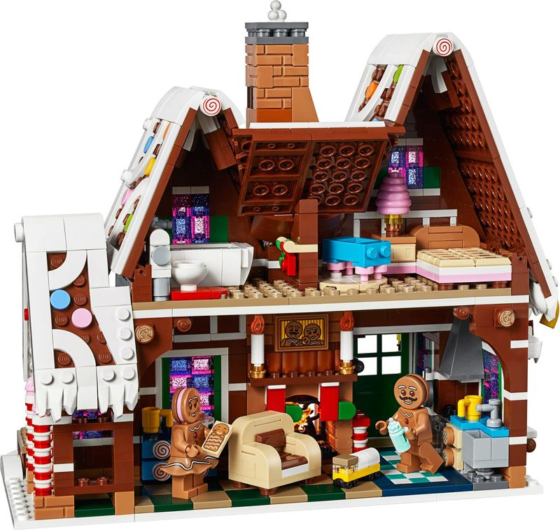 LEGO® Creator Expert Gingerbread House interior