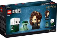 LEGO® BrickHeadz™ Voldemort™, Nagini & Bellatrix back of the box
