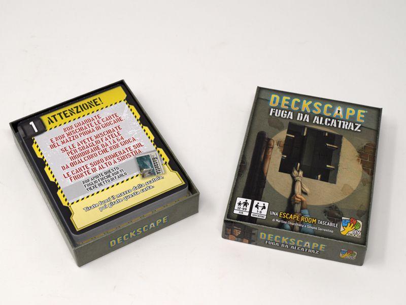 Deckscape: Escape from Alcatraz box