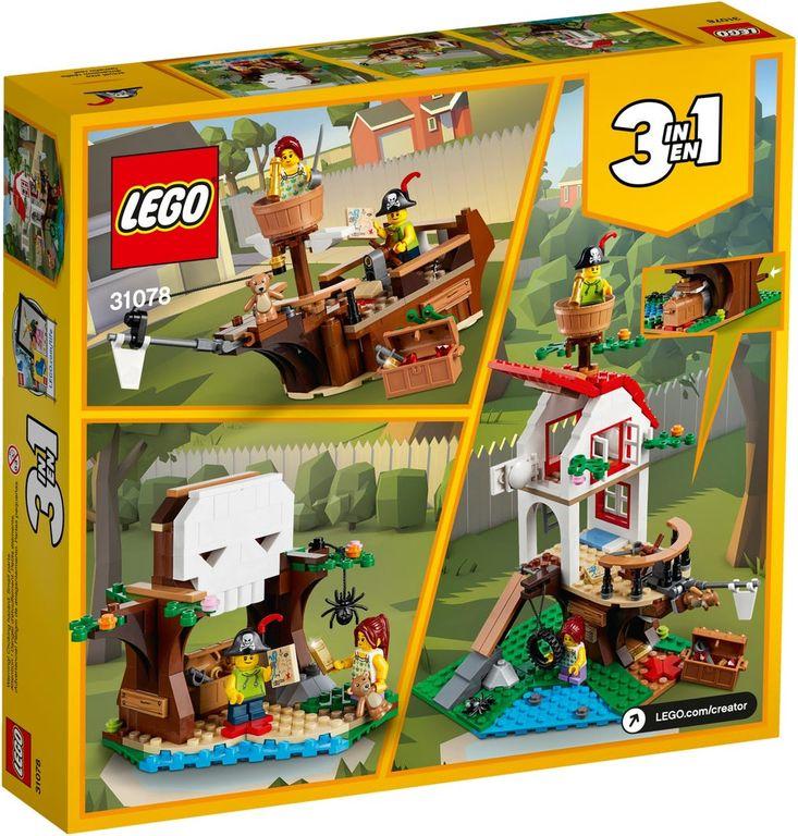 LEGO® Creator Treehouse Treasures back of the box