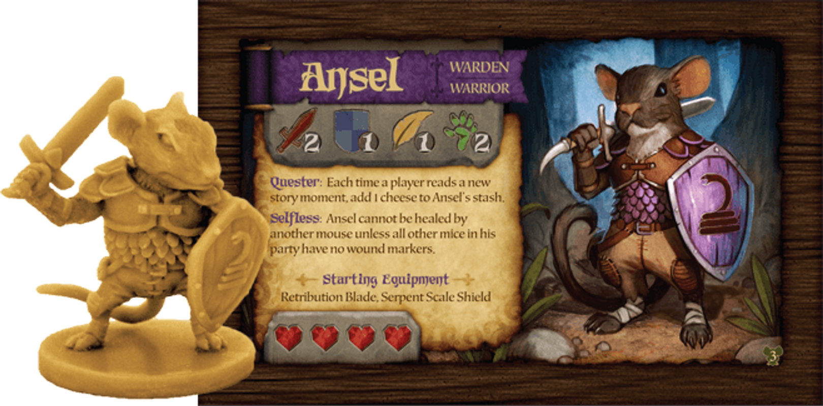 Mice and Mystics: Downwood Tales components