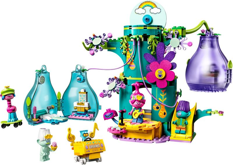 LEGO® Trolls Pop Village Celebration components