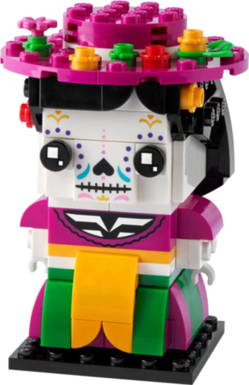 LEGO® BrickHeadz™ La Catrina components
