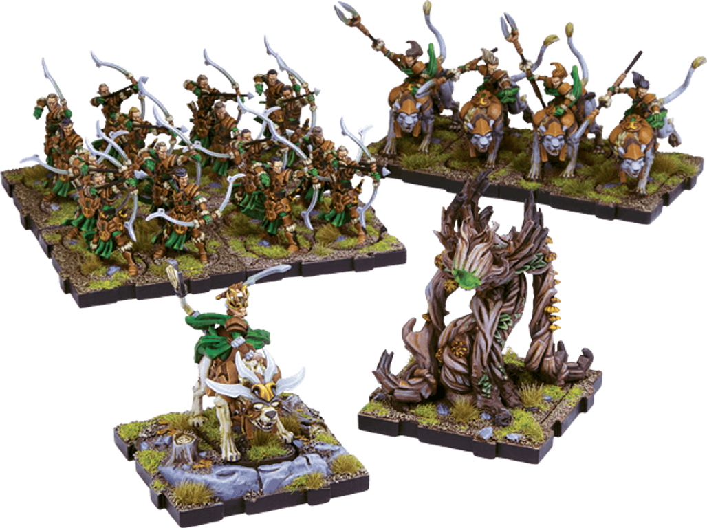 Runewars Miniatures Game: Latari Elves – Army Expansion miniatures