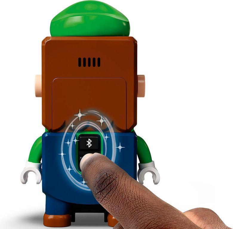LEGO® Super Mario™ Adventures with Luigi Starter Course back side