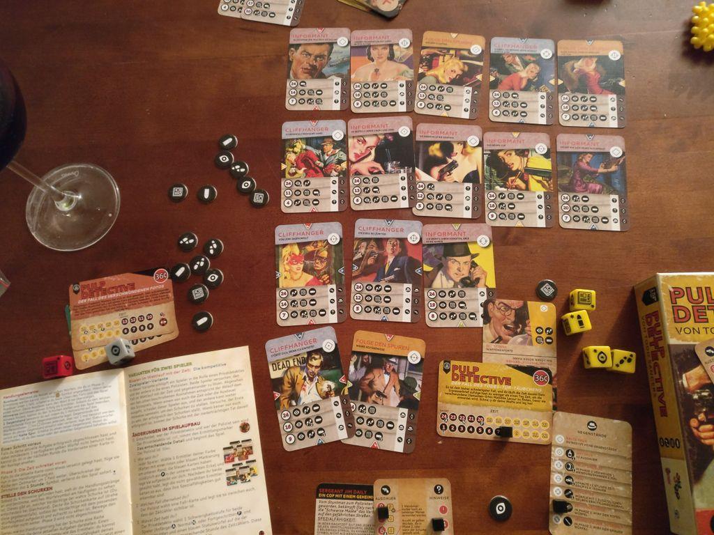 Pulp Detective gameplay
