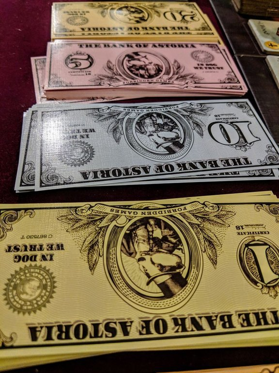 Raccoon Tycoon money