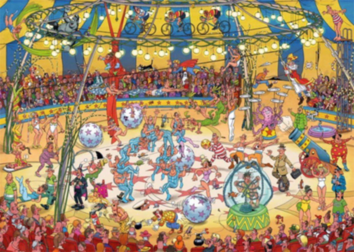 Acrobat Circus