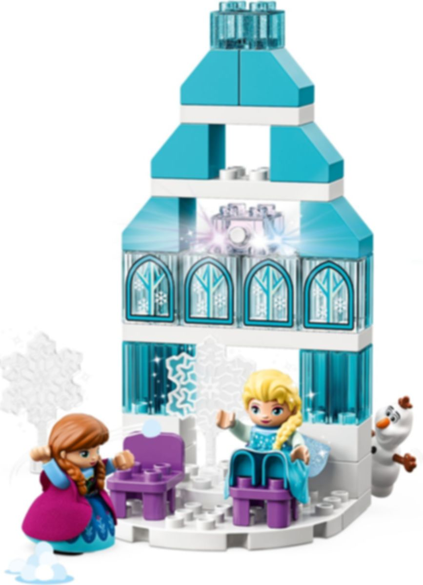 LEGO® DUPLO® Frozen Ice Castle components