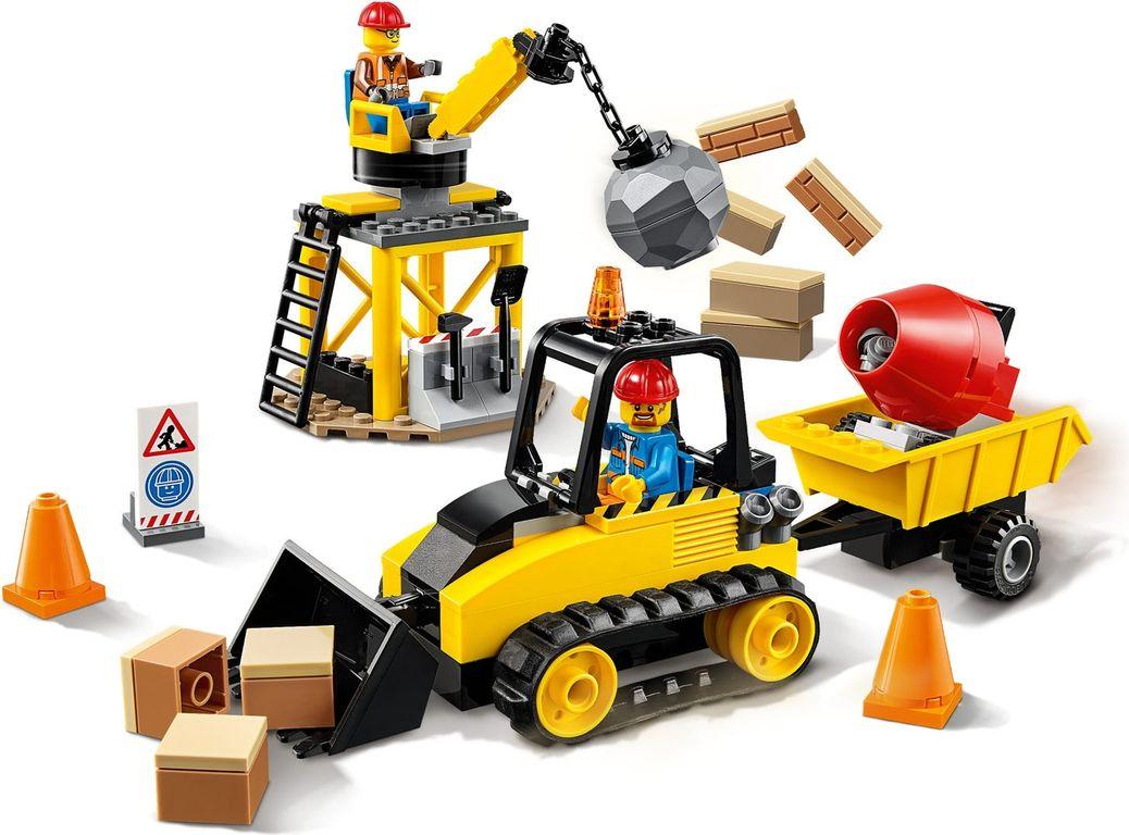 Construction Bulldozer gameplay