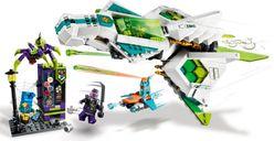 LEGO® Monkie Kid White Dragon Horse Jet gameplay