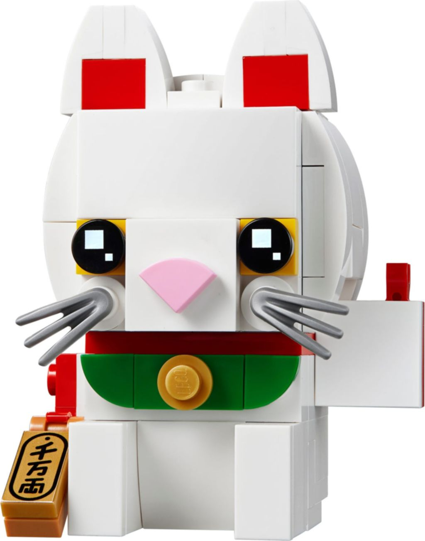 LEGO® BrickHeadz™ Lucky Cat components