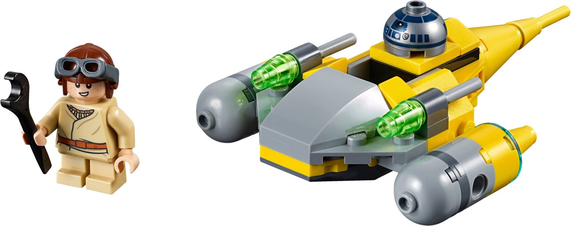 LEGO® Star Wars Naboo Starfighter™ Microfighter components