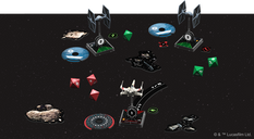 Star Wars: X-Wing (Second Edition) components
