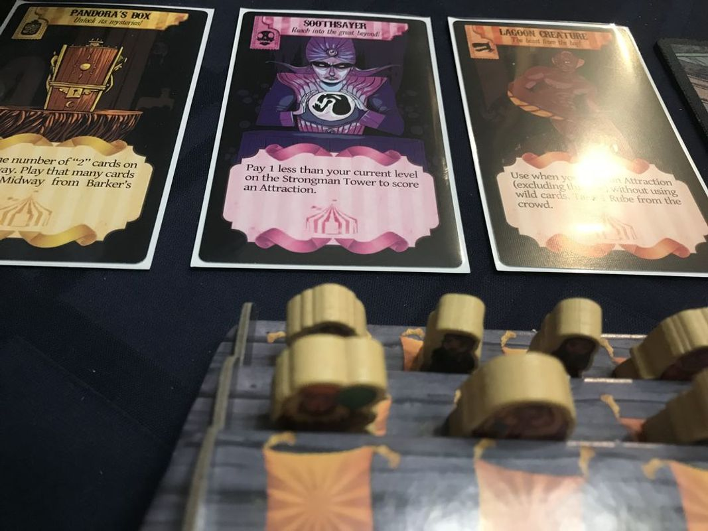 Barker's Row gameplay