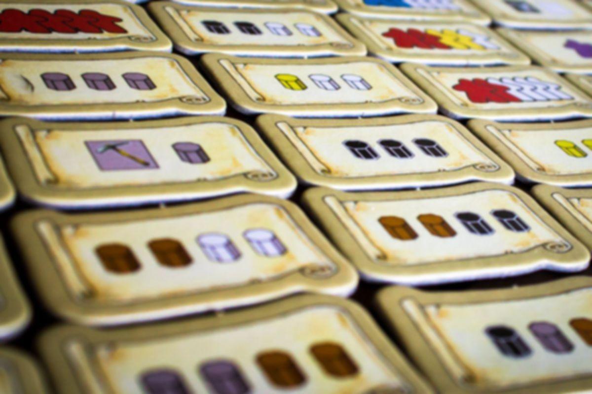 Keyflower: The Merchants components