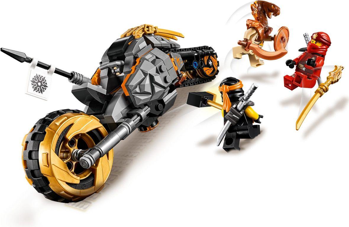 LEGO® Ninjago Coles Offroad-Bike gameplay