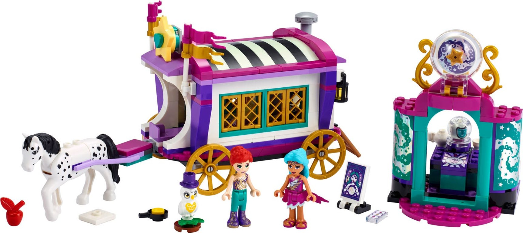 LEGO® Friends Magical Caravan components