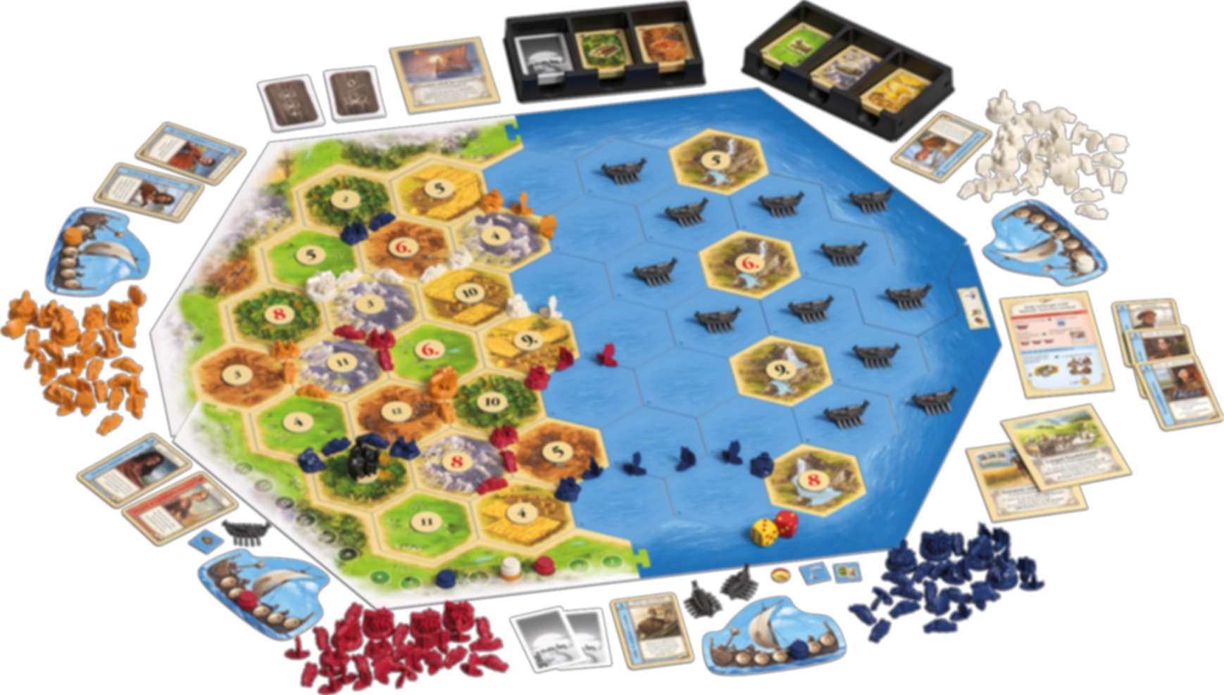 Catan: Seafarers Scenario - Legend of the Sea Robbers gameplay