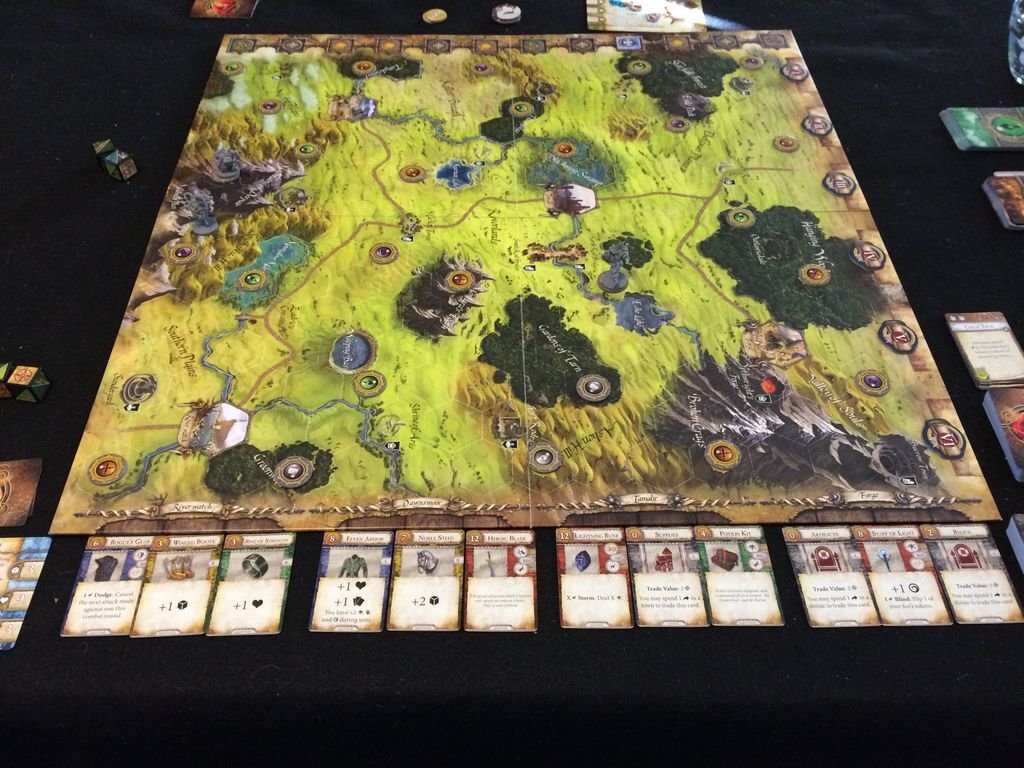 Runebound (Third Edition) gameplay