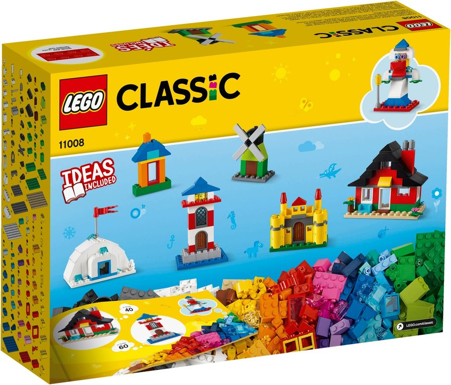 LEGO® Classic Bricks and Houses back of the box