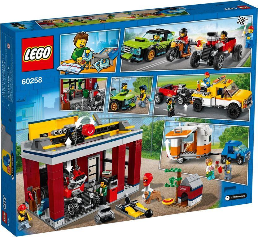 LEGO® City Tuning Workshop back of the box