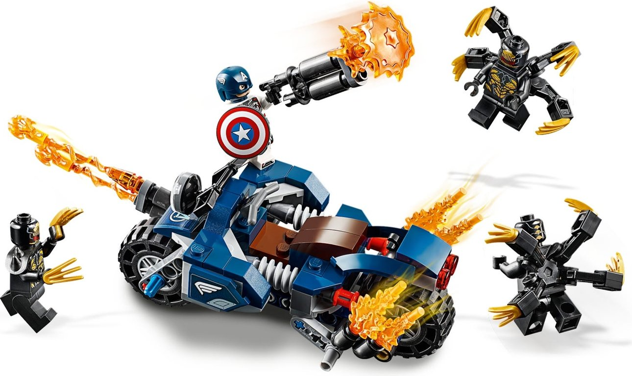 LEGO® Marvel Captain America: Outriders Attack gameplay