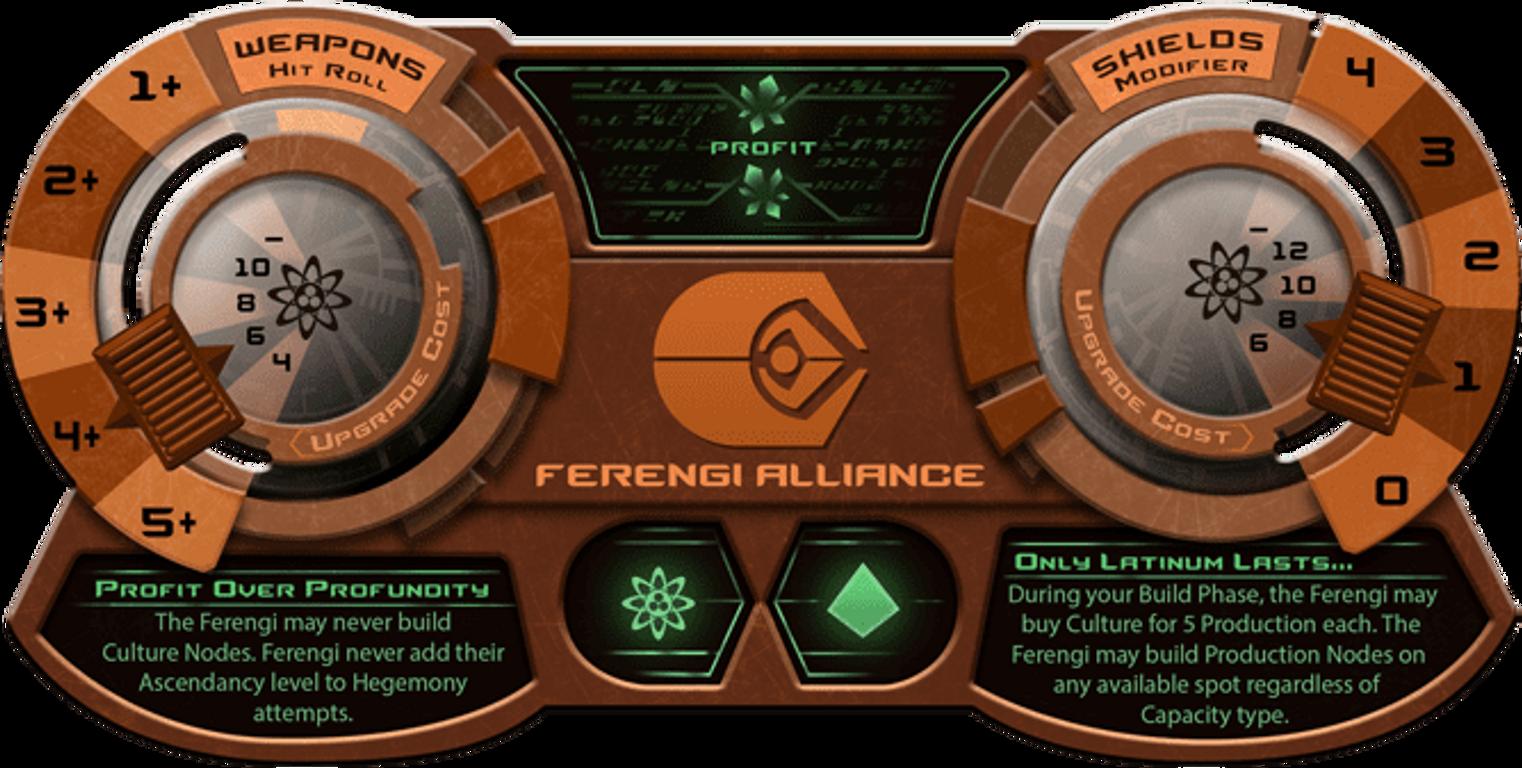 Star Trek: Ascendancy - Ferengi Alliance components