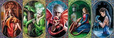 Anne Stokes: Dragon Friendship Panorama