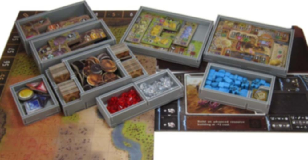 Founders of Gloomhaven Insert components