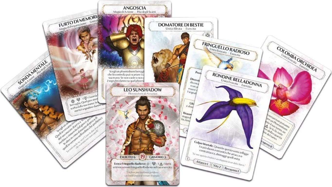 Ashes: The Roaring Rose cards