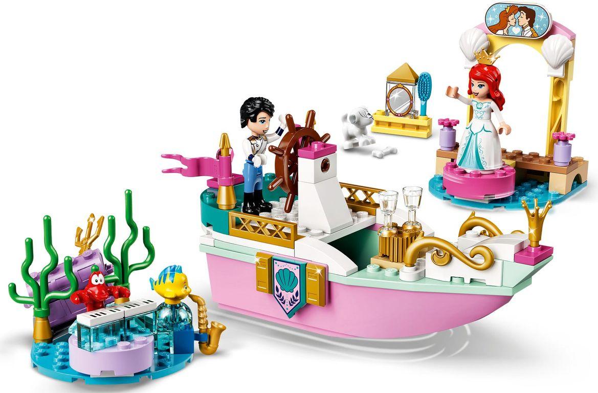 LEGO® Disney Ariel's Celebration Boat gameplay