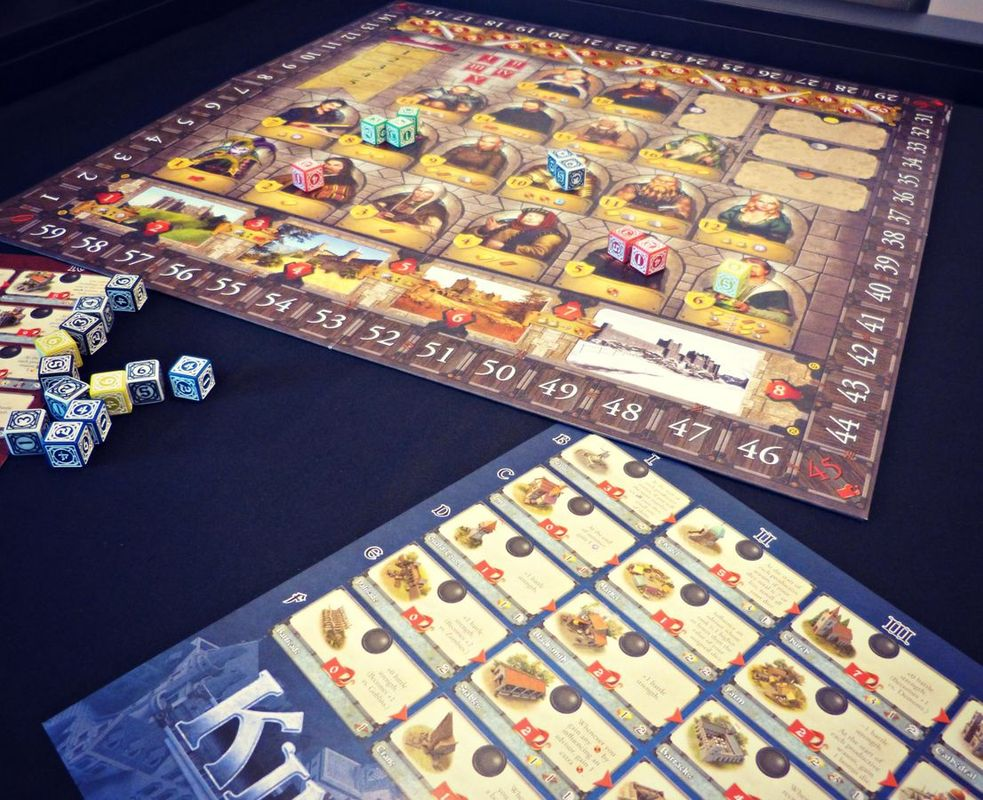 Kingsburg (Second Edition) components