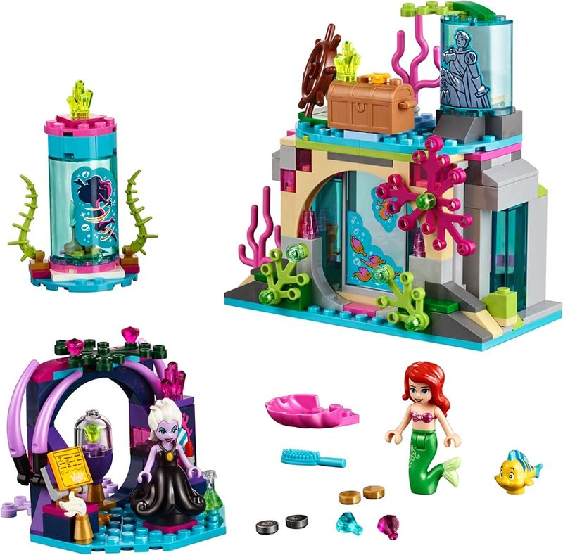 LEGO® Disney Ariel and the Magical Spell components