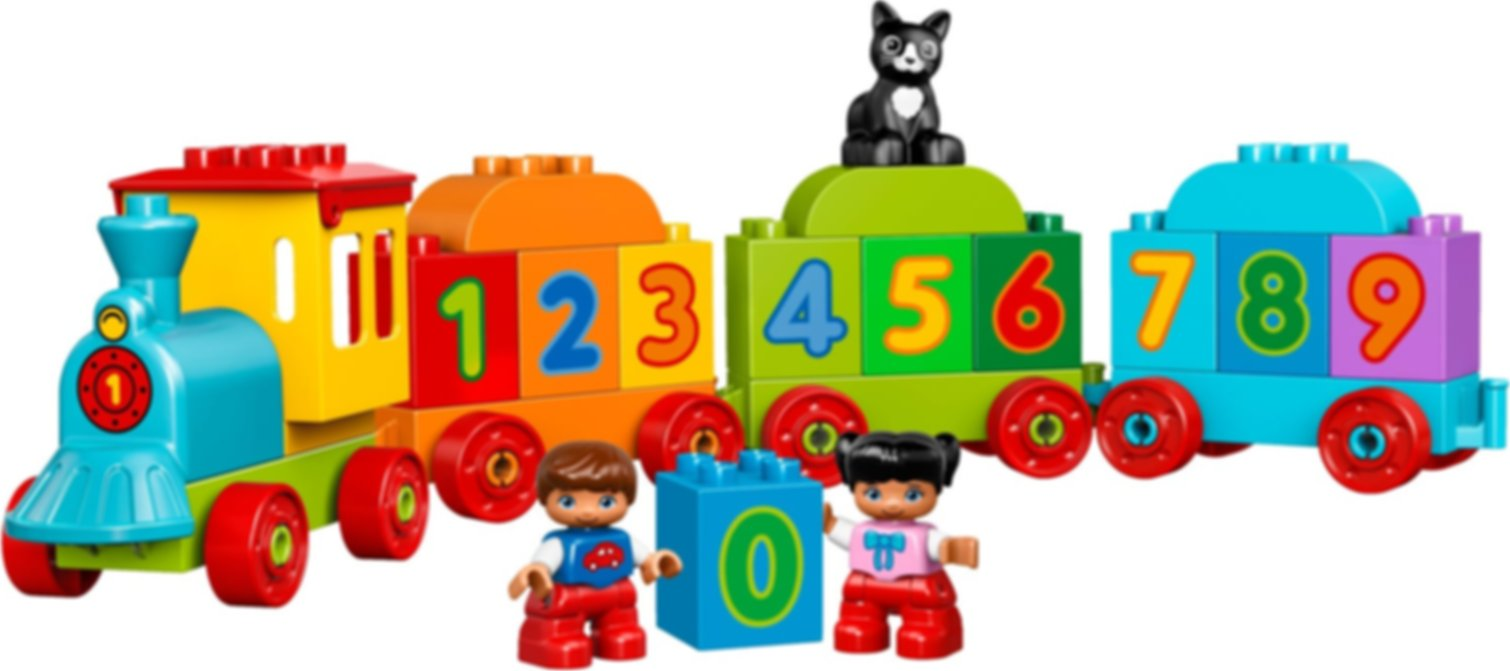 Number Train components