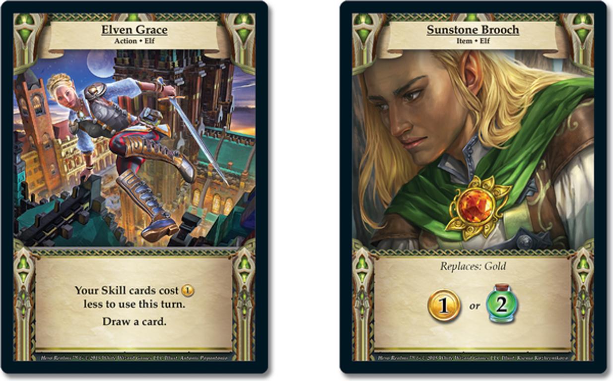 Hero Realms: Ancestry cards