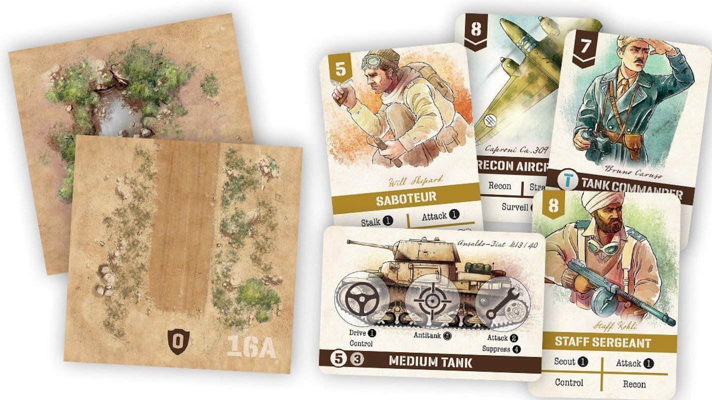 Undaunted: North Africa components