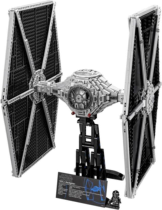 LEGO® Star Wars TIE Fighter components