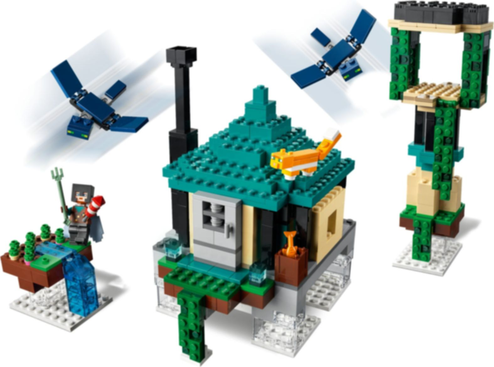 LEGO® Minecraft The Sky Tower gameplay