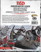 Dungeon Master's Screen: Eberron: Rising from the Last War
