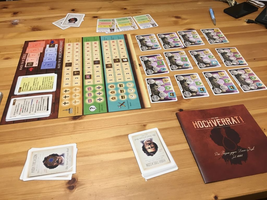 High Treason: The Trial of Louis Riel gameplay